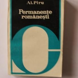 Al. Piru - Permanente romanesti