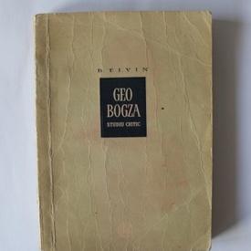 B. Elvin - Geo Bogza (studiu critic)