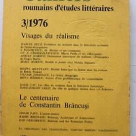 Cahiers roumains d'etudes litteraires nr. 3/1976