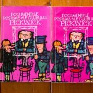 Charles Dickens - Documentele postume ale clanului Pickwick (2 vol.)