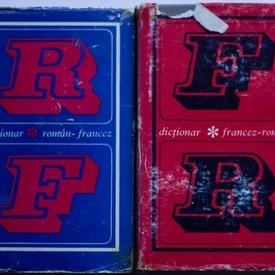 Colectiv autori - Dictionar roman-francez, francez-roman (2 vol., editie hardcover)