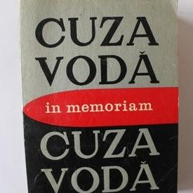 Colectiv autori - In memoriam Cuza Voda