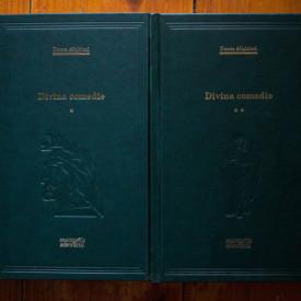 Dante Aligheri - Divina comedie (Infernul. Purgatoriul. Paradisul) (2 vol., editie hardcover)
