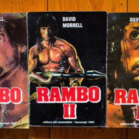 David Morrell - Rambo (Singur contra tuturor. Misiune in apocalips. Pretul prieteniei) (3 vol.)