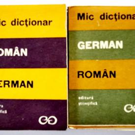 E. Sireteanu, I. Tomeanu - Mic dictionar german-roman, roman-german (2 vol.)