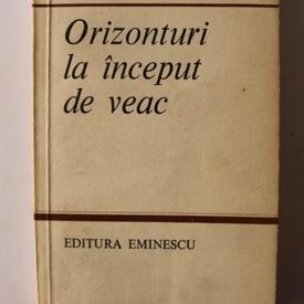 Edgar Papu - Orizonturi la inceput de veac