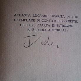 F. Aderca - Marturia unei generatii (cu autograf)