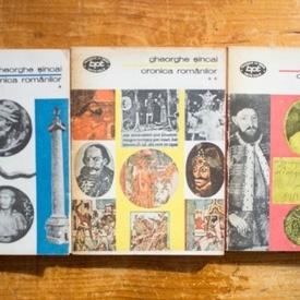Gheorghe Sincai - Cronica romanilor (3 vol.)