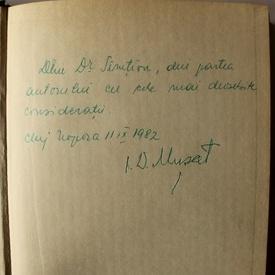 I. D. Musat - Horea. Rex. Daciae (3 vol., editie hardcover, cu autograf)