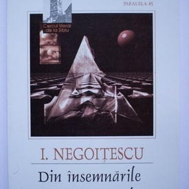 I. Negoitescu - Din insemnarile unui cosmopolit