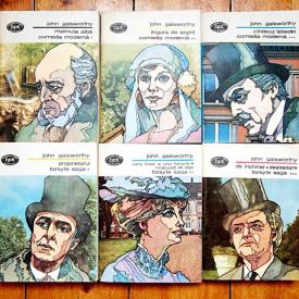 John Galsworthy - Forsyte Saga. Comedia moderna (6 vol.)