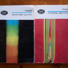 Lucian Blaga - Mirabila samanta. Poemele luminii (2 vol.)