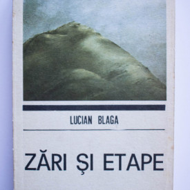 Lucian Blaga - Zari si etape