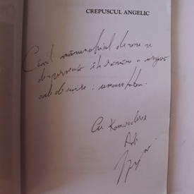 Marius A. Moldovan - Crepuscul angelic (cu autograf)