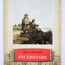 Mihail Sadoveanu - Inceputuri