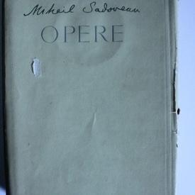 Mihail Sadoveanu - Opere (vol. 20, editie hardcover)