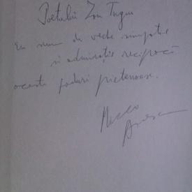 Mircea Dinescu - Proprietarul de poduri (cu autograf)