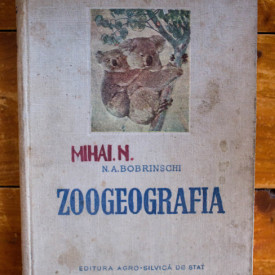 N. A. Bobrinschi - Zoogeografia (editie hardcover)