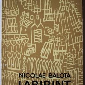 Nicolae Balota - Labirint. Eseuri critice