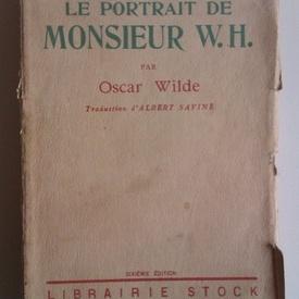 Oscar Wilde - Le portrait de monsieur W.H. (editie interbelica)