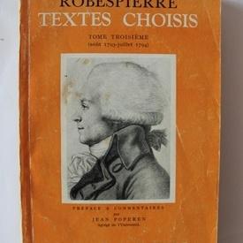 Robespierre - Textes choisis