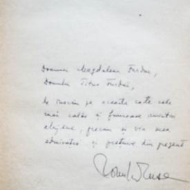 Romulus Rusan - America ogarului cenusiu (cu autograful autorului si al sotiei, Ana Blandiana)