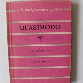 Salvatore Quasimodo - Versuri. Cele mai frumoase poezii