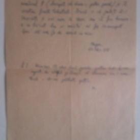 Scrisoare Florin Mugur