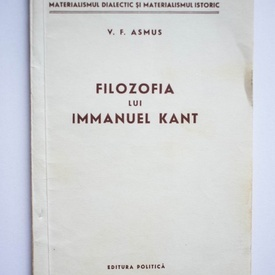 V. F. Asmus - Filozofia lui Immanuel Kant