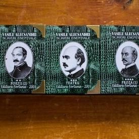 Vasile Alecsandri - Scrieri esentiale (5 vol. in caseta speciala, format liliput, hardcover)