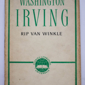 Washington Irving - Rip Van Winkle