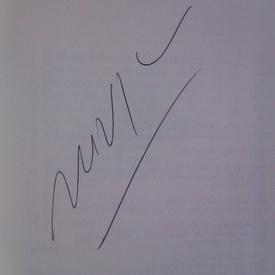 Mario Vargas Llosa - Elogio de la madrastra (editie hardcover in limba spaniola, cu autograf)