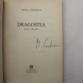 Mircea Cartarescu - Dragostea (cu autograf/signed edition)