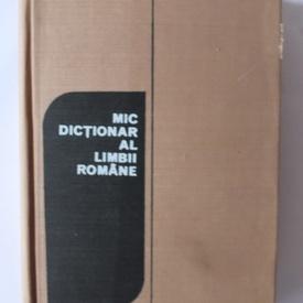 Ana Canarache, Vasile Breban - Mic dictionar al limbii romane (editie hardcover)