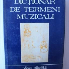 Colectiv autori - Dictionar de termeni muzicali (editie hardcover)