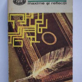 Francois de la Rochefoucauld - Maxime si reflectii