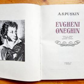 A. S. Puskin - Evgheni Oneghin. Cu 10 ilustratii de Jules Perahim (editie hardcover)
