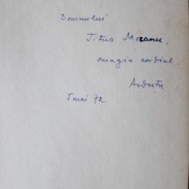 Alexandru Dutu - Cartile de intelepciune in cultura romana (cu autograf)