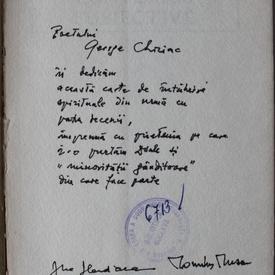 Ana Blandiana, Romulus Rusan - Convorbiri subiective (cu autograful lui Romulus Rusan si semnatura Anei Blandiana)