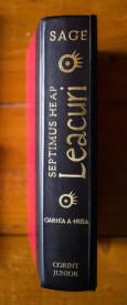 Angie Sage - Septimus Heap. Leacuri (editie hardcover)