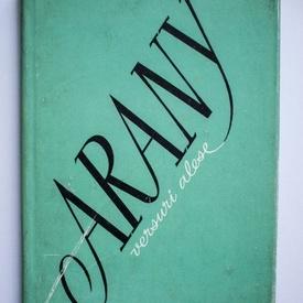 Arany Janos - Versuri alese (editie hardcover)