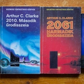 Arthur C. Clarke - Urodisszeia (2001. Urodisszeia, 2010. Masodik Urodisszeia, 2061. Harmadik Urodisszeia, 3001 Vegso Urodisszeia (4 vol.)