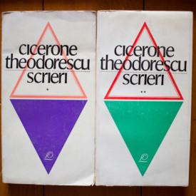 Cicerone Theodorescu - Scrieri. Versuri I-II (2 vol.)