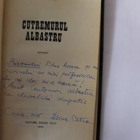 Doina Cetea - Cutremurul albastru (cu autograf)