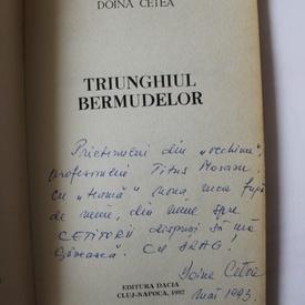 Doina Cetea - Triunghiul Bermudelor (cu autograf)