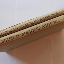 Dr. Gheorghe Ghitescu - Anatomie artistica (Constructia corpului. Formele corpului in repaus si miscare) (2 vol., editie hardcover)