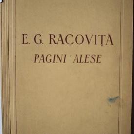 E.G. Racovita - Pagini alese