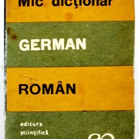 E. Sireteanu, I. Tomeanu - Mic dictionar german-roman
