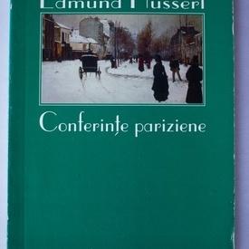 Edmund Husserl - Conferinte pariziene