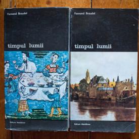 Fernand Braudel - Timpul lumii (2 vol.)